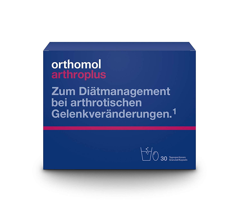 Orthomol arthroplus 30er Granulat & Kapseln für Gelenke & Knochen - Glucosaminulfat, Chondroitinsulfat & Hyaluronsäure